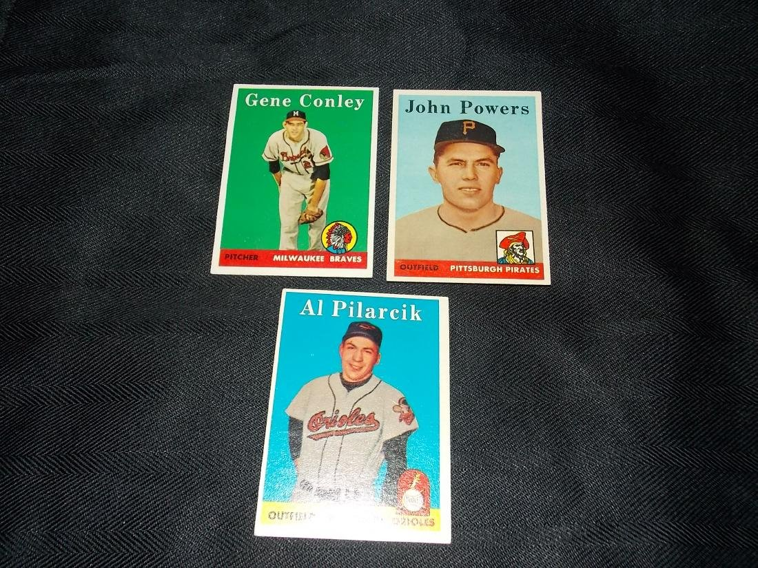 1958 Topps Card Lot