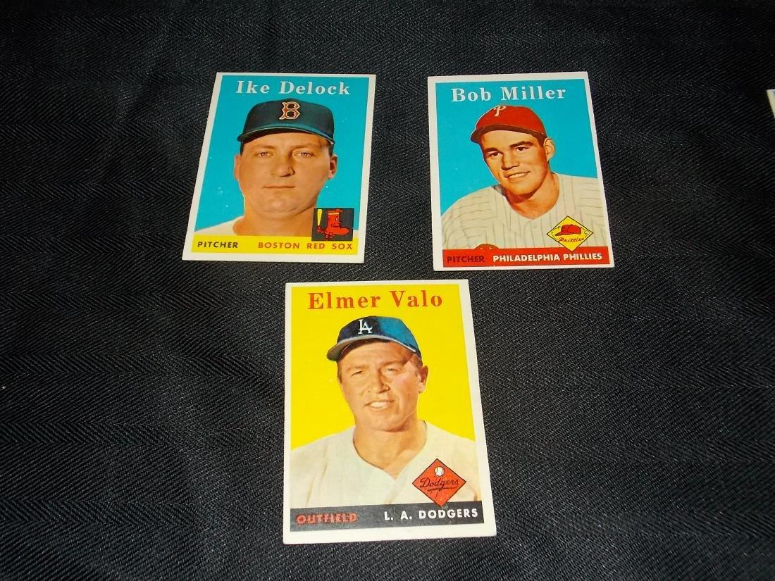 1958 Topps Card Lot