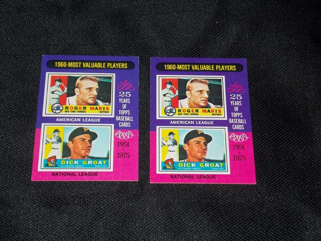 1975 Topps Minis CARD LOT
