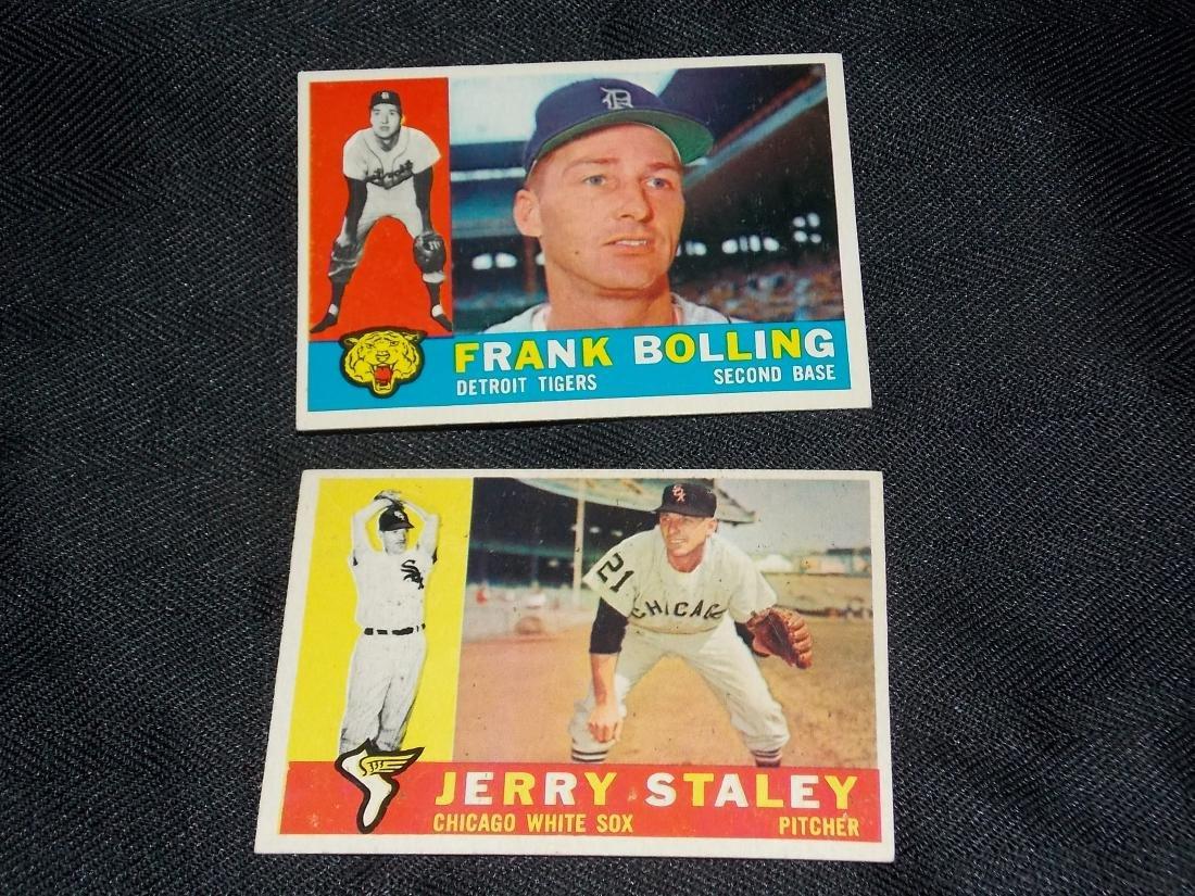 1960 Topps CARD LOT