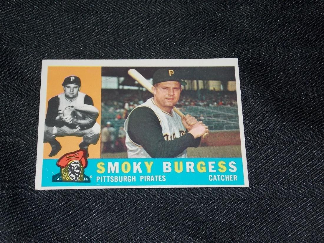 1960 Topps Smokey Burgess, Pittsburgh Pirates