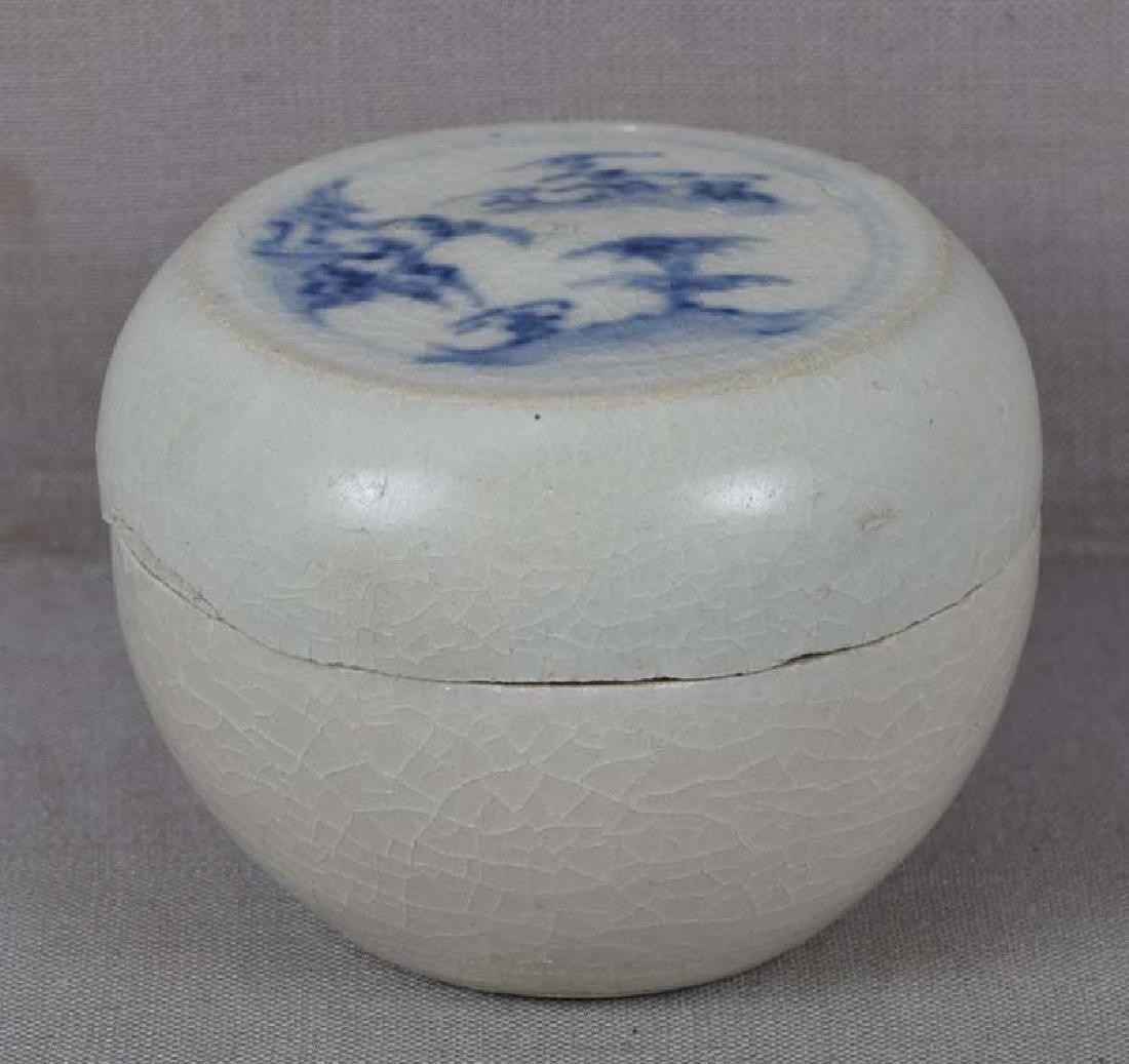 15th Century Vietnamese Ceramic Hoi an Shipwreck Box