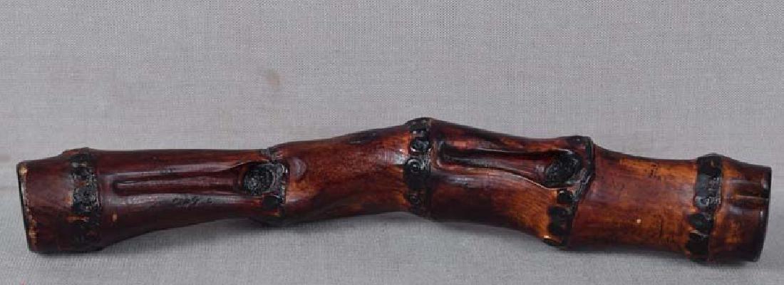 19th Century Chinese Scholar Bamboo Brushrest