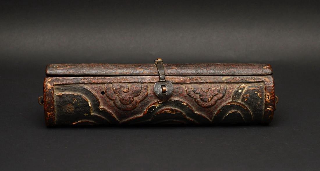 Antique Tibetan Incense Holder
