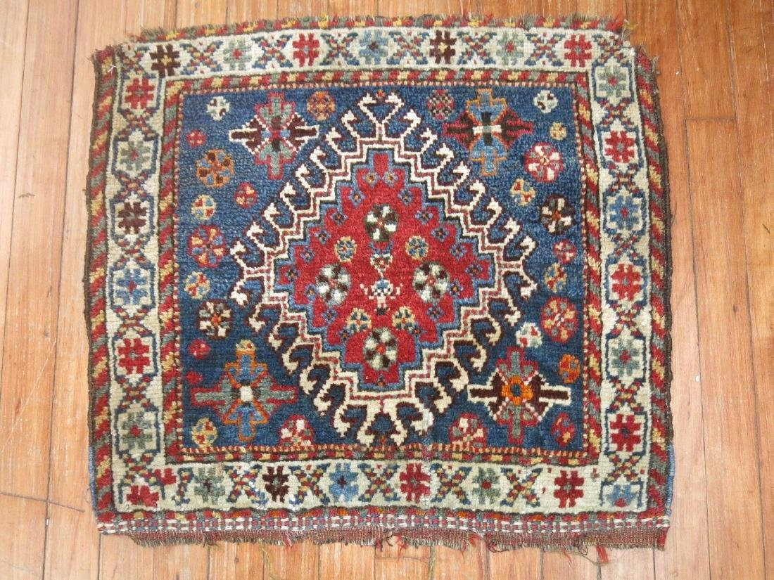 Antique Persian Shiraz Bagface Rug 2.2x1.10