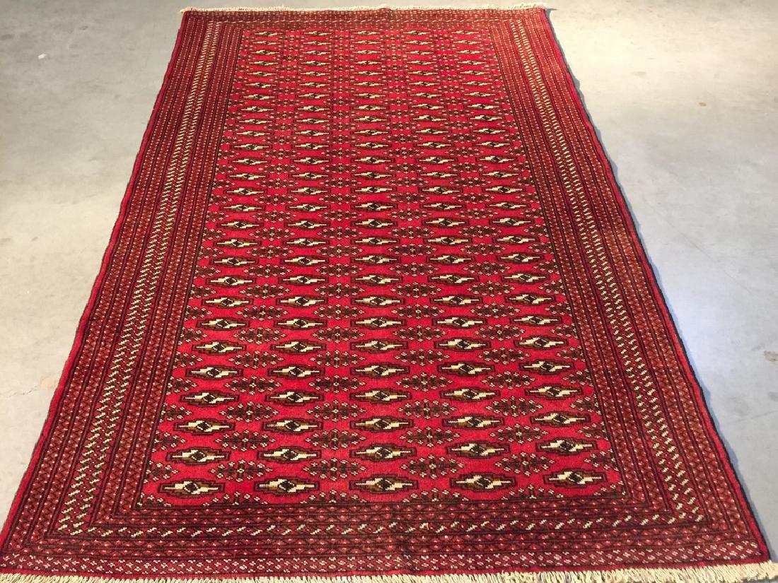 Rare Persian Turkeman Rug 4.2x6.5