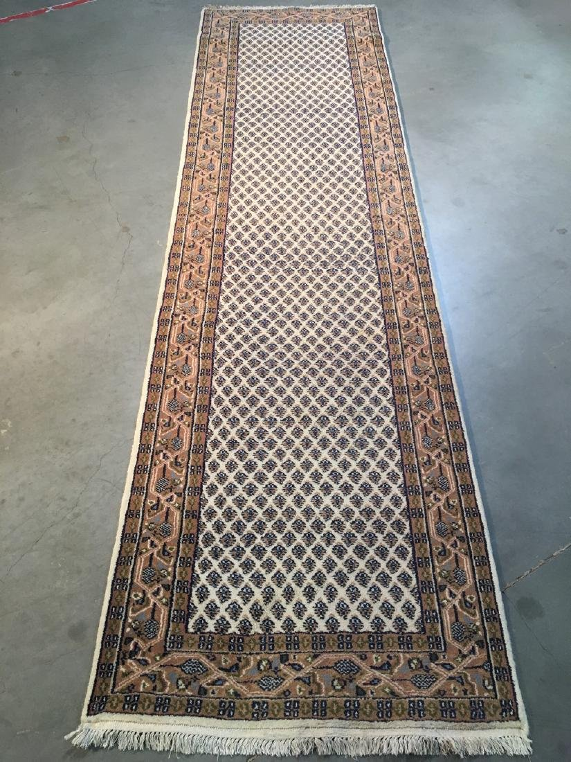 Classic Mood Hand-knotted Wool Runner Rug 2.9x10.2