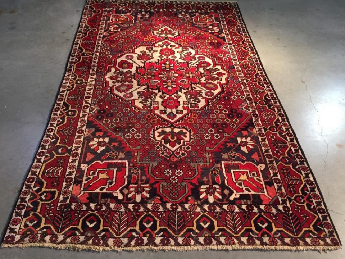 Authentic Persian Bakhtiari Rug 5.1x8.3