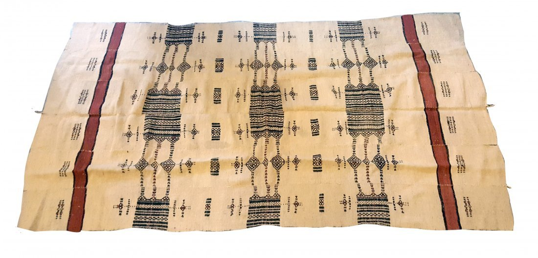 Fulbe People, Mali Late 20th Century Woven Blanket