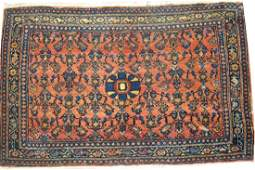 Antique Persian Senneh Rug 3x2