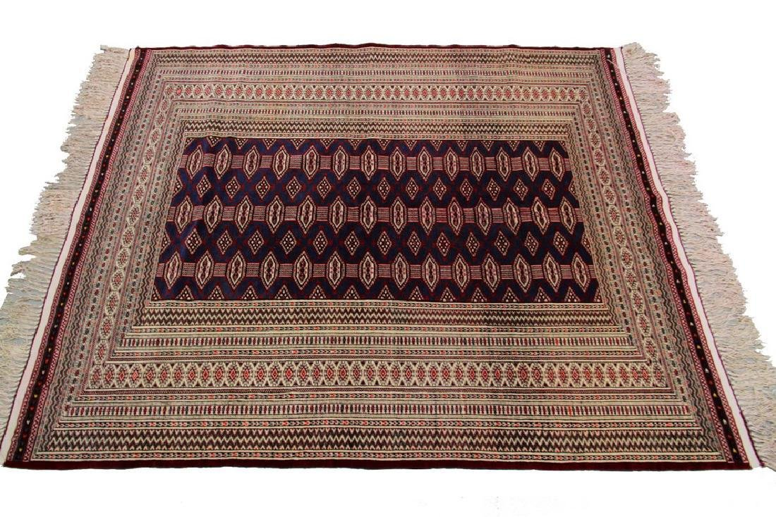 Vintage Persian Turkoman Rug Bokhara 4.10x6.9