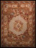 French Savonnerie Design Rug Wool Hand Made Rug 10x14