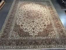 Stunning Authentic Persian Kashan Rug 99x132