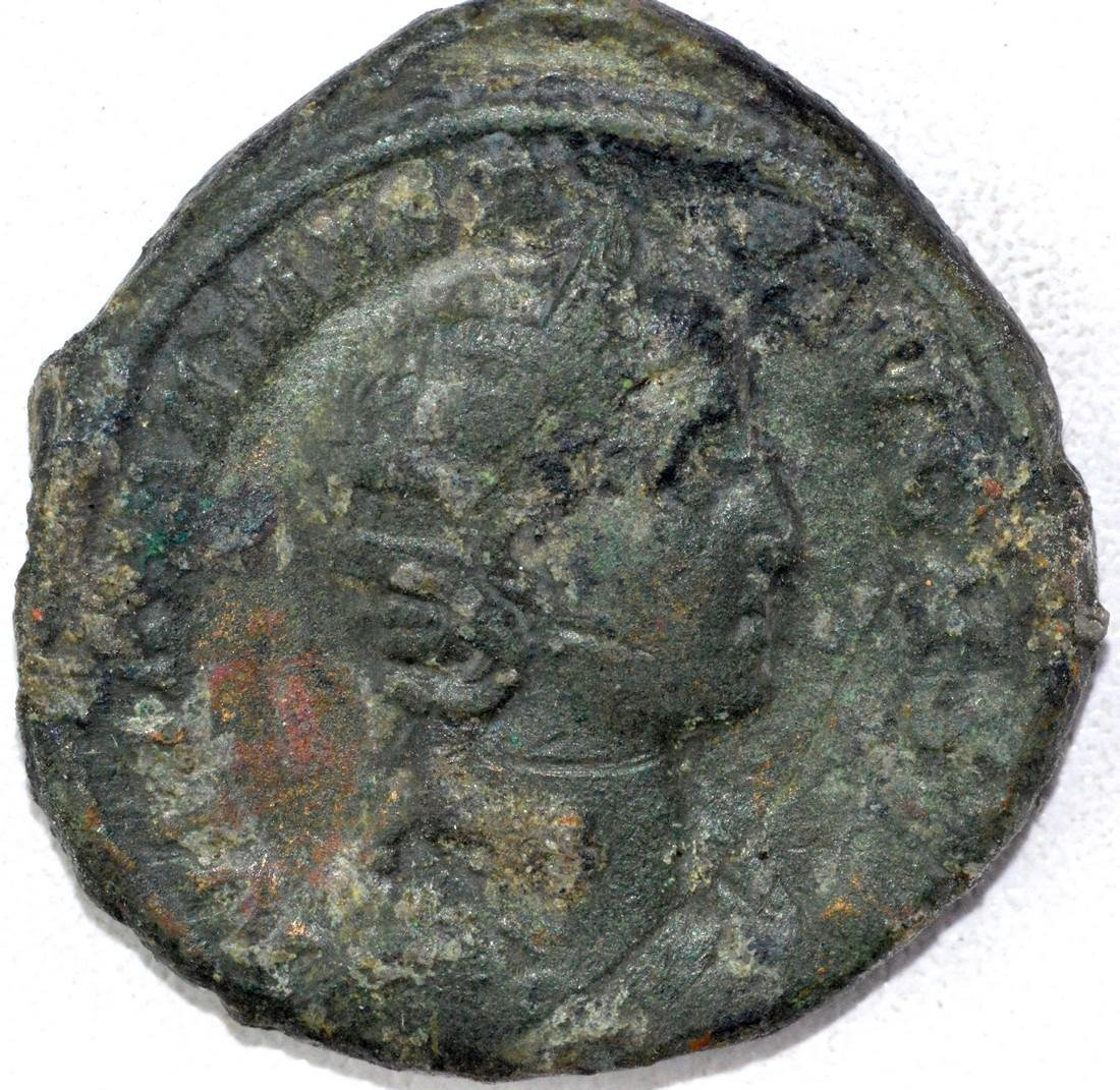 Ancient Roman Sestertius of Julia Mamaea