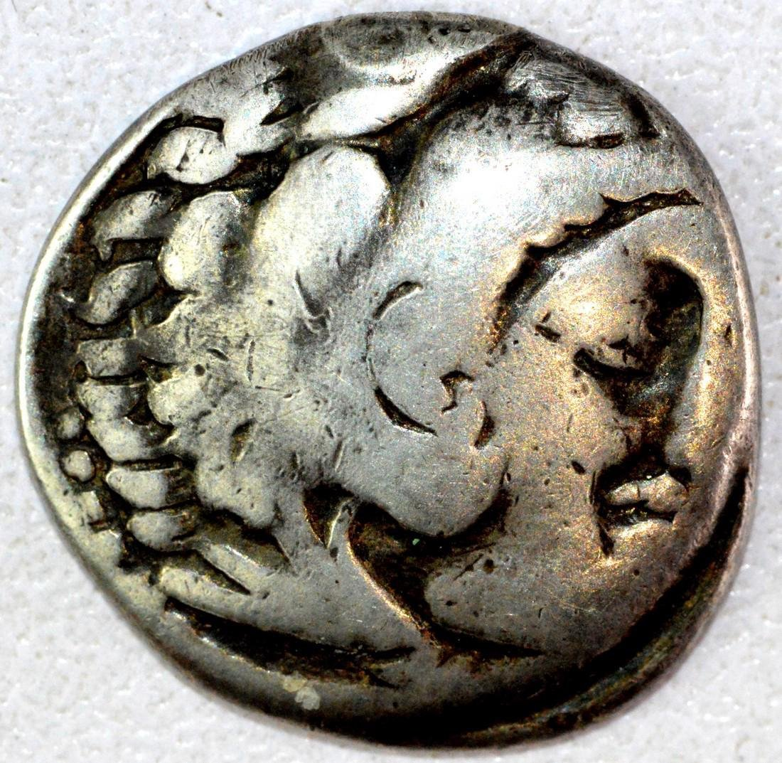 Ancient Greek Drachm of Alexander III the Great