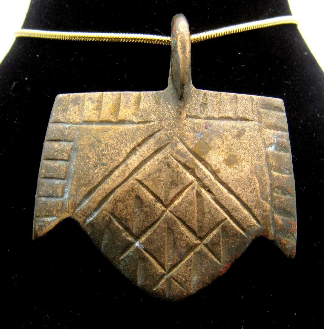 Medieval Viking Decorated Warriors Pendant