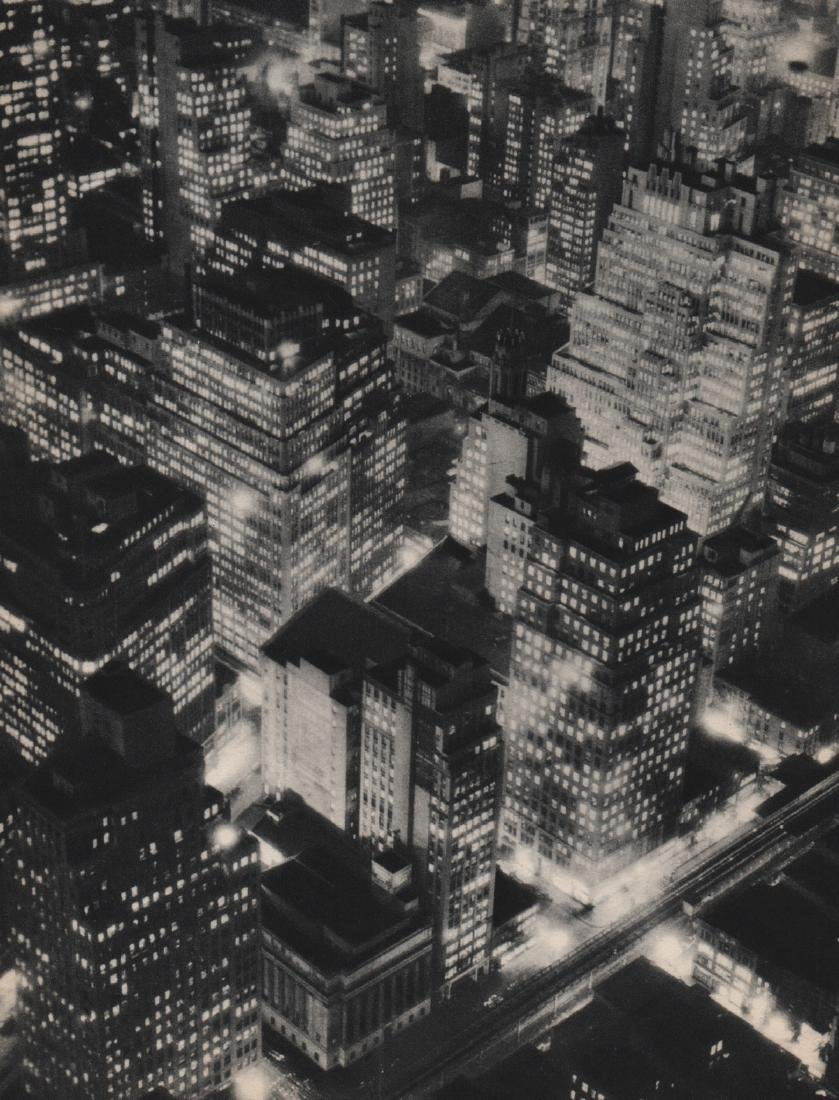 BERENICE ABBOTT - New York at Night