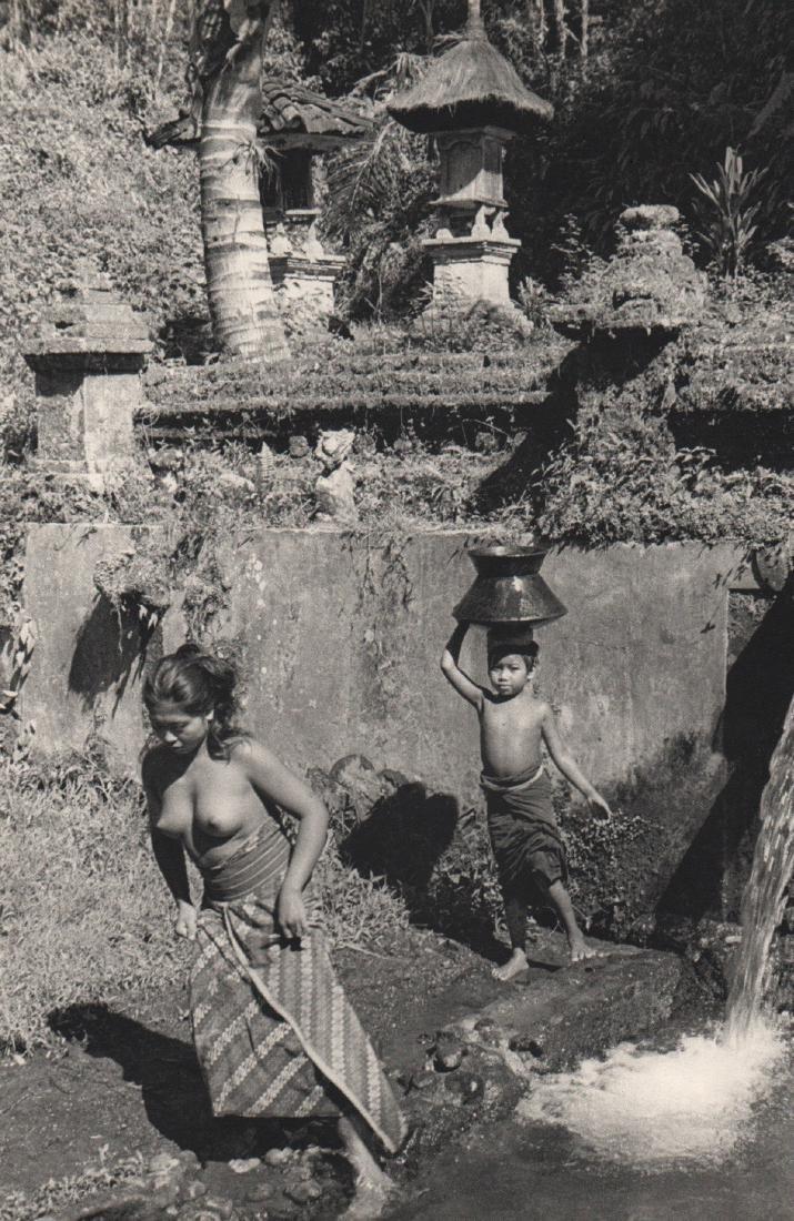 HENRI CARTIER-BRESSON - Bali, Indonesia 1950