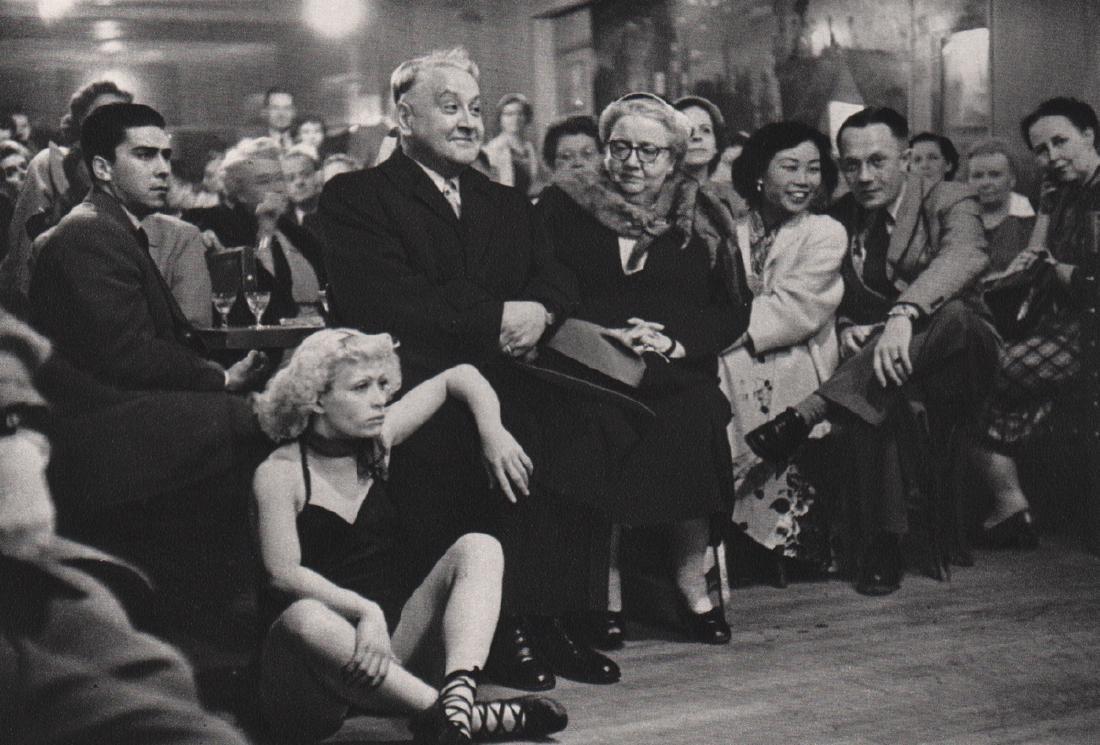 ROBERT DOISNEAU - Petit Balcon Dance Hall, 1953