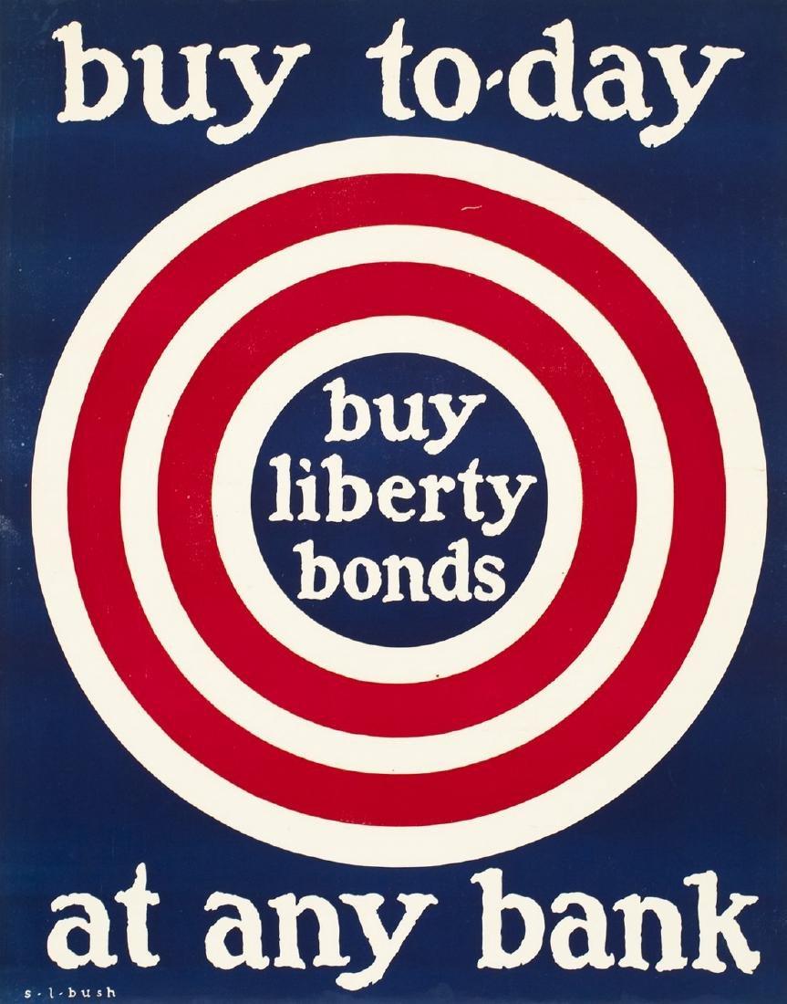 Original Vintage Poster Buy Liberty Bonds 1918