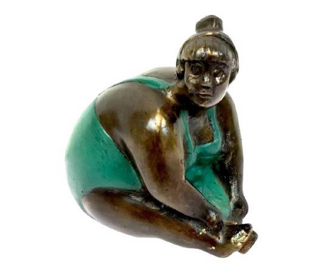 Lady in Bronze Swimsuit - 20th century