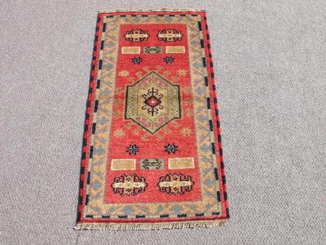 Handmade Kazak Design Rug 2.2x4