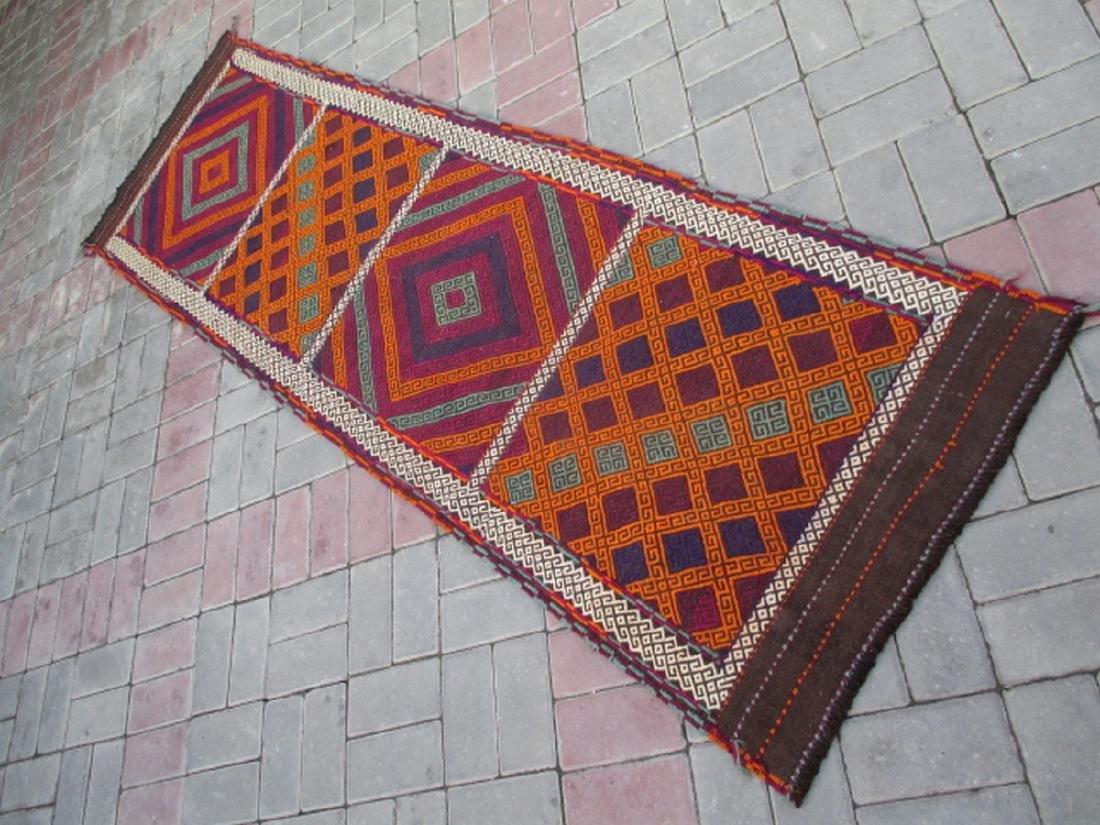Suzni Hand Made Kilim Runner Rug 2.4x8.1