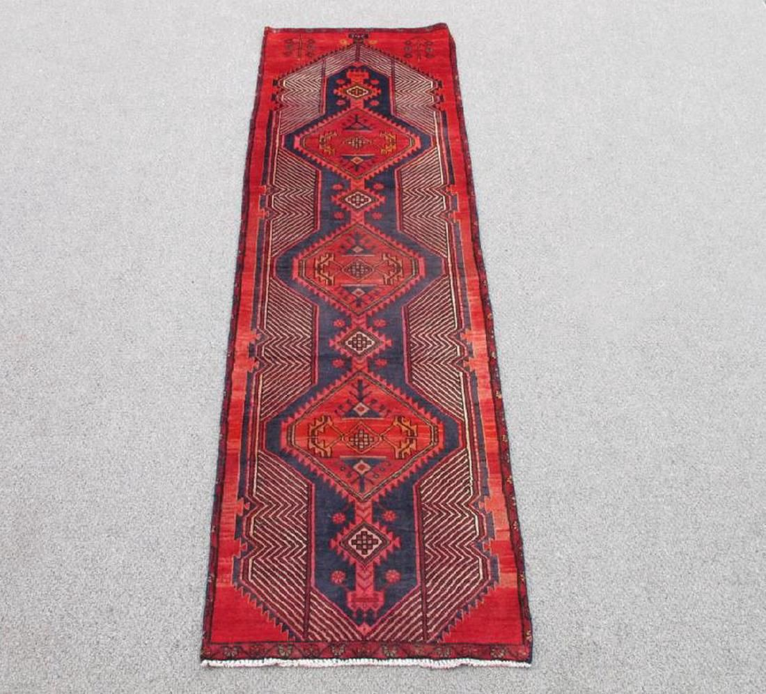 Vintage Persian Sarab Rug 8.7x2.5