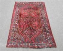 Wool Semi Antique Persian Shiraz Rug 58x810