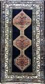 Antique Kurdish Rug 3x6
