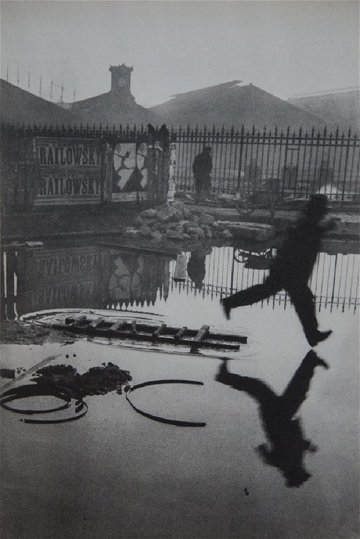 HENRI CARTIER-BRESSON - Place De L'Europe, Paris, 1932