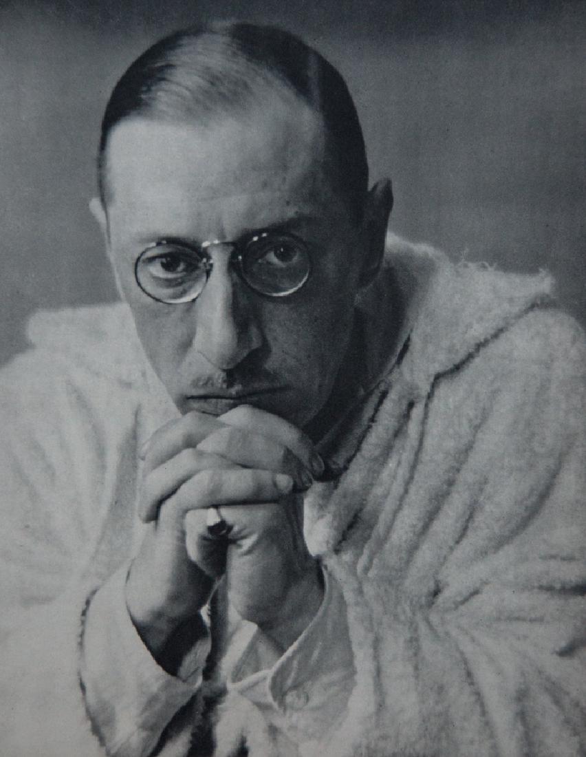 ALVIN LANGDON COBURN - Composer Igor Stravinsky, 1921