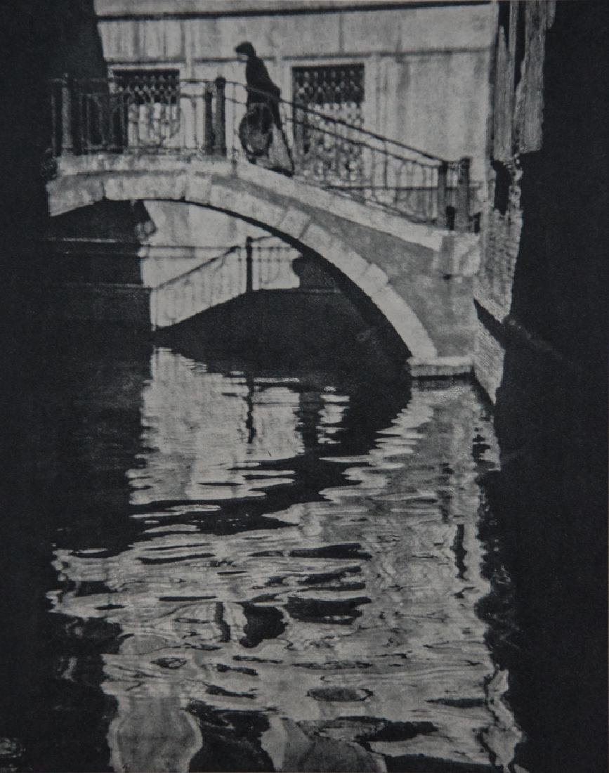 ALVIN LANGDON COBURN - Shadows and Reflections, Venice