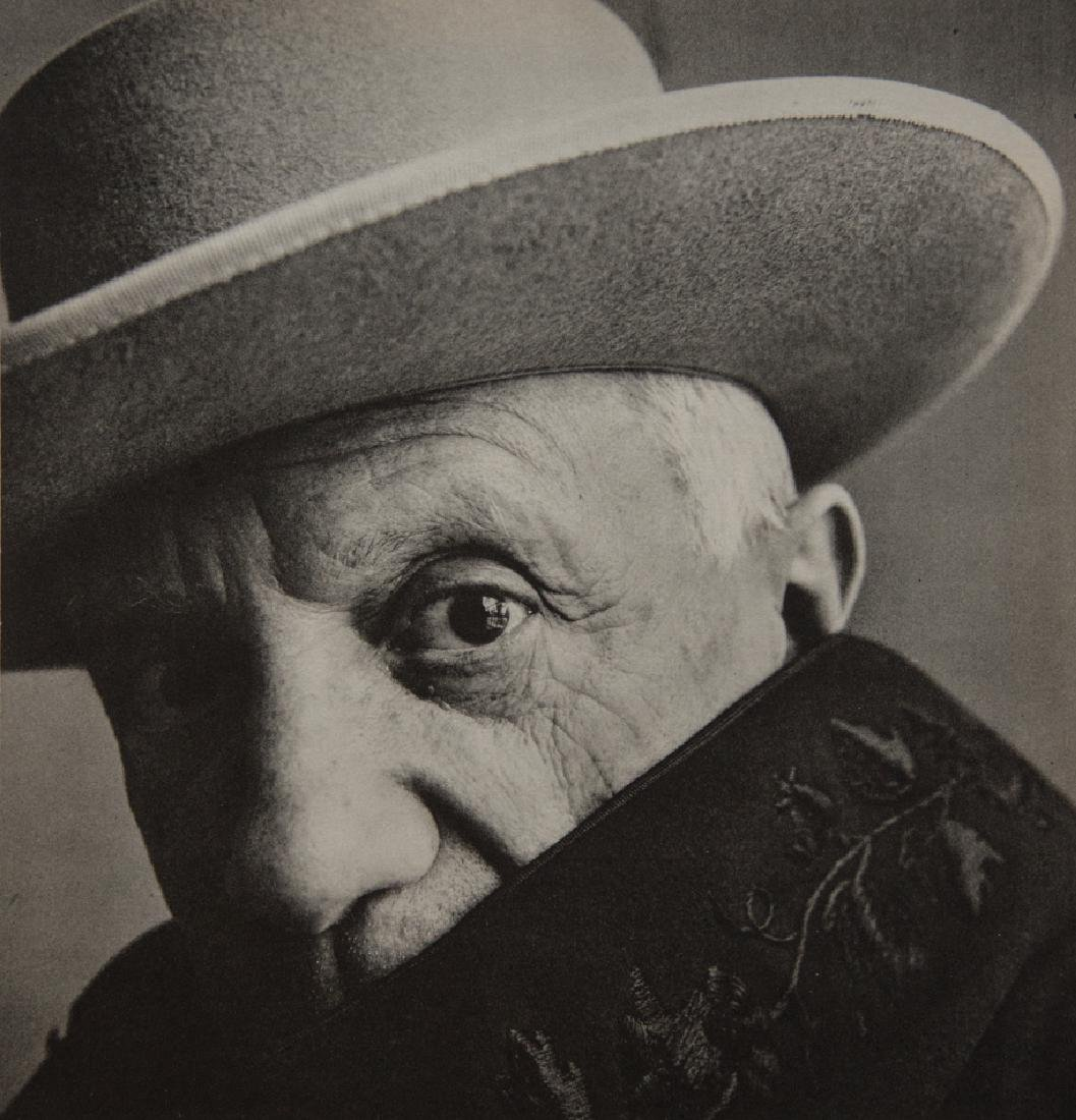 IRVING PENN - Pablo Picasso, Cannes, 1957