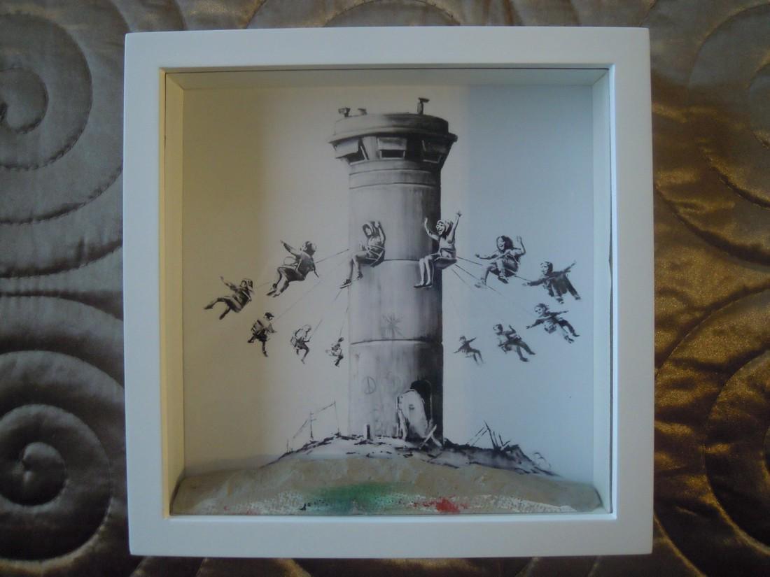 Banksy Walled Off Hotel Box Set Print Lithograph