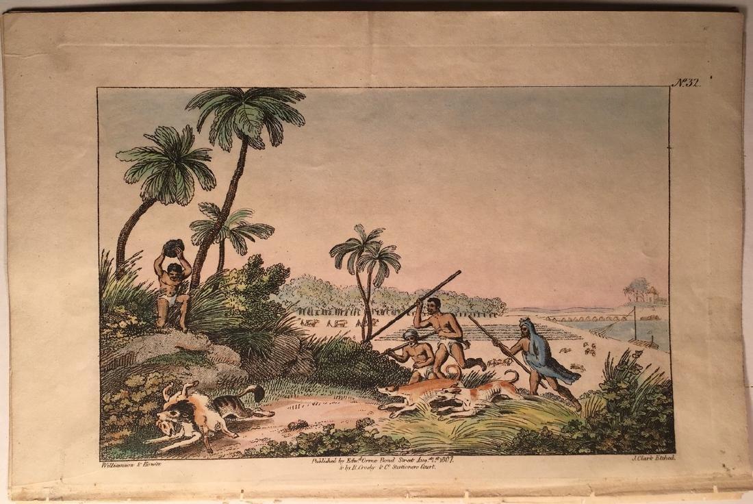 Williamson, Thomas & Samuel Howitt Hunting Jackals 2