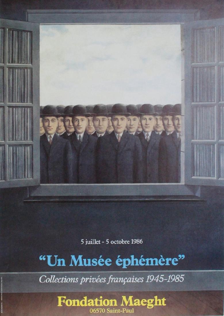 Rene Magritte Print Un Musée éphémère