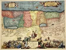 Stoopendaal/Keur: Map of Beloved Land Canaan, 1609