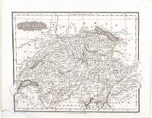1835 Malte-Brun map of Switzerland -- Switzerland
