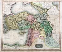 Thomson Antique Map of Asiatic Turkey 1814