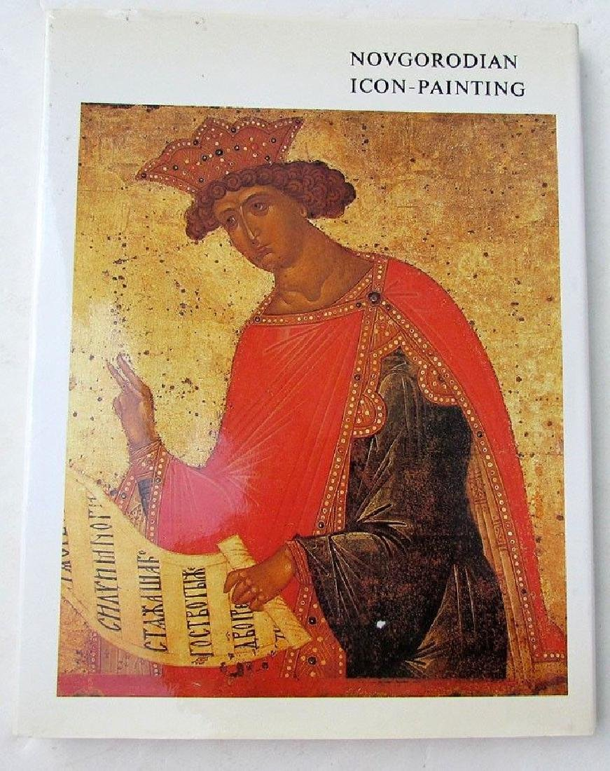 NOVGORODIAN ICON PAINTING LARGE RUSSIAN REFERENCE & ART