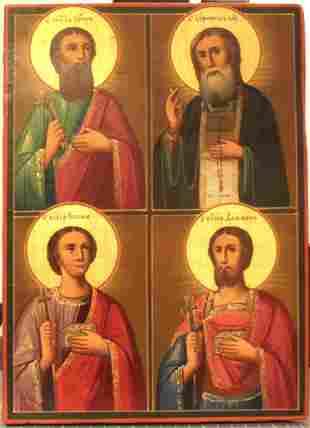 Saints Icon