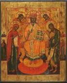 Deesis with Saints Icon