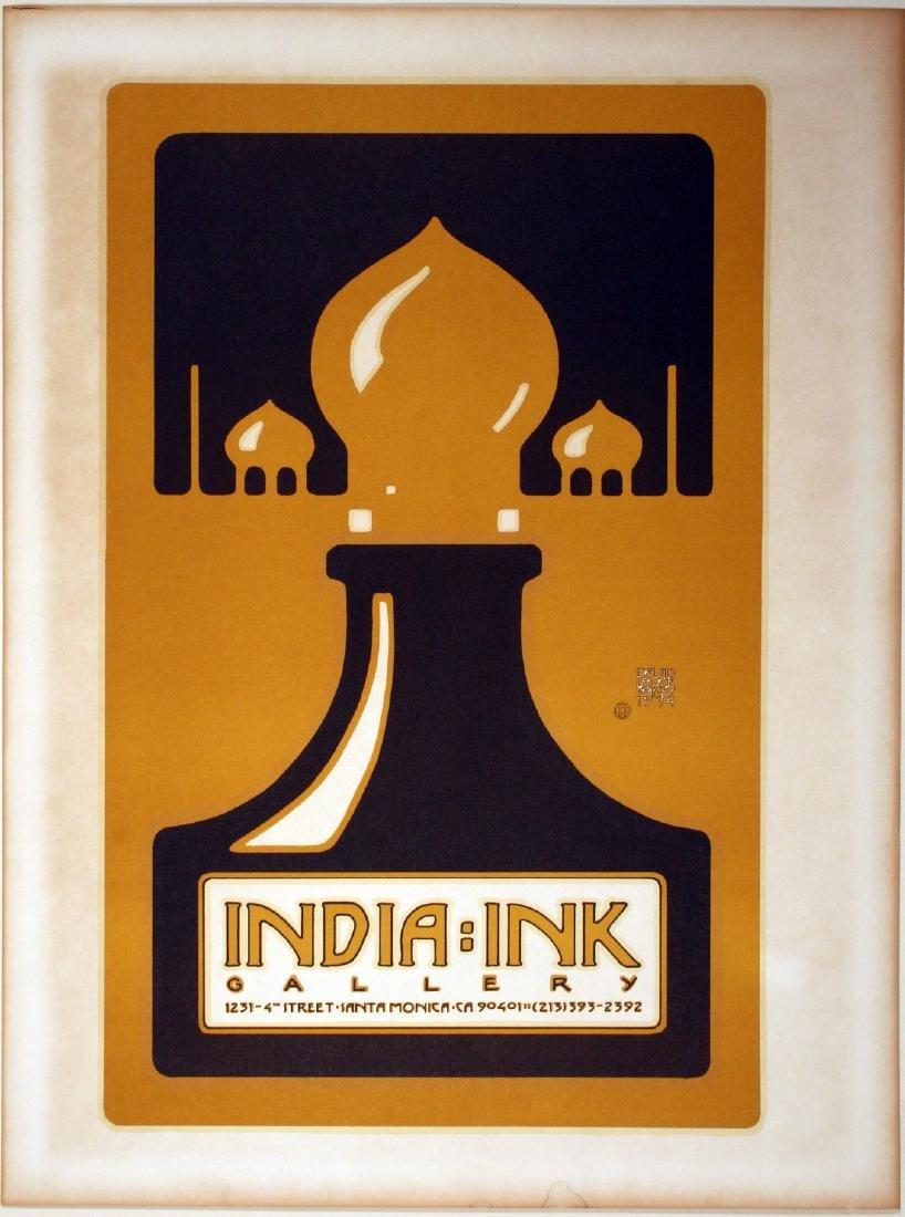 India Ink Gallery Original Vintage Poster Lance Goines