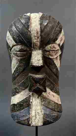 Male Songye Kifwebe mask