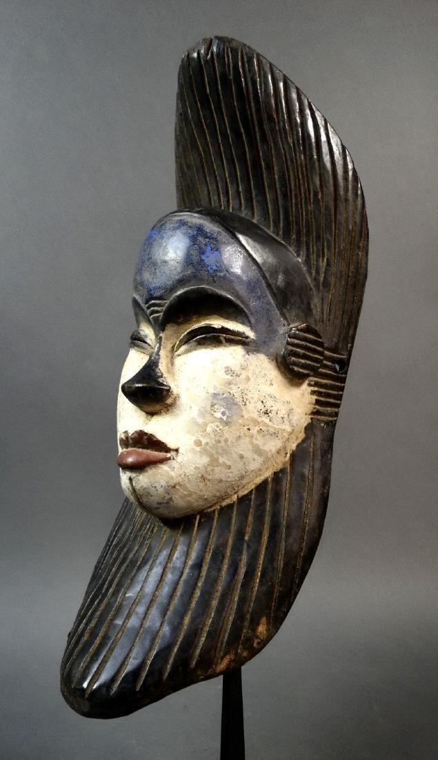 African face mask used by the Galoa tribe, Gabon