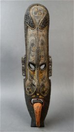 Savi masks are known for their tongues