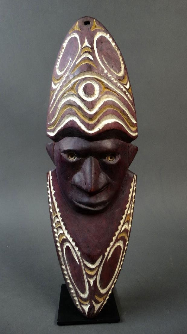 Wall mask from the Chambri lake area of Papua New
