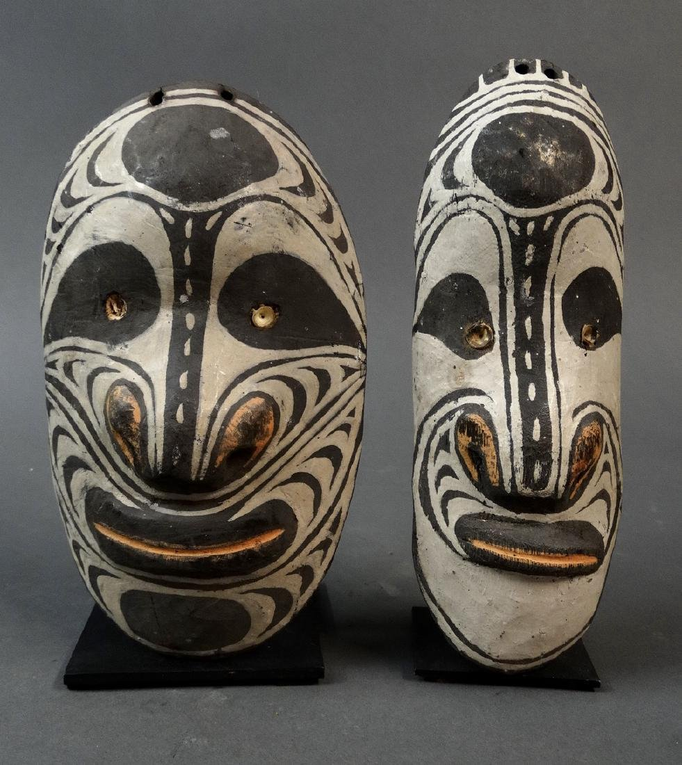 3 Amulet Masks from the Sepik people