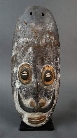 An impressive ancestor wall mask Lower Sepik with nice